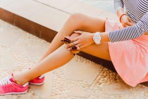 カサカサ膝の原因とケア法