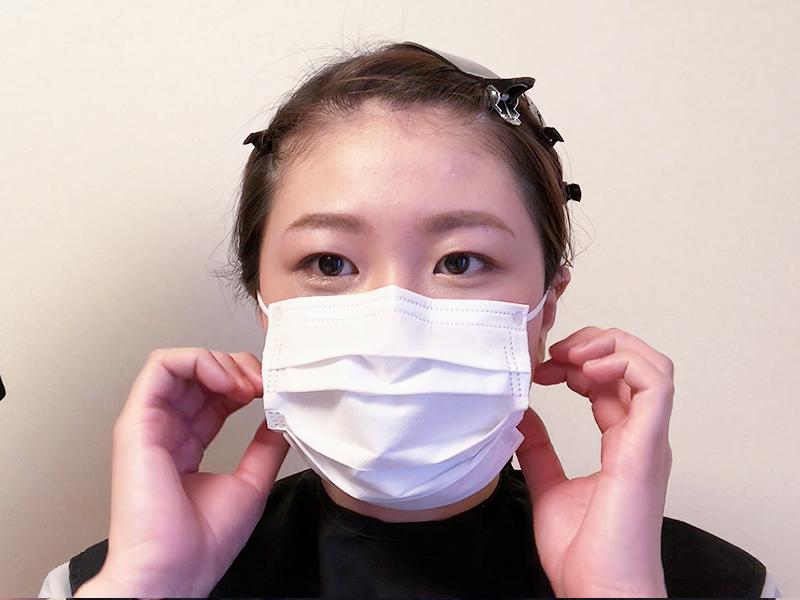 ない パウダー フェイス につか マスク